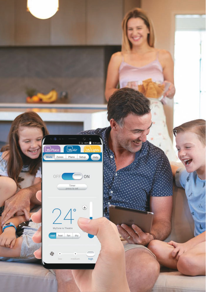 Smart home systems Residential Airconditioning installer Lilydale